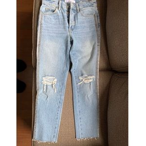 Zara straight legged jean